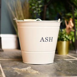 Fireside Ash Bucket With Lid Finished in the Home