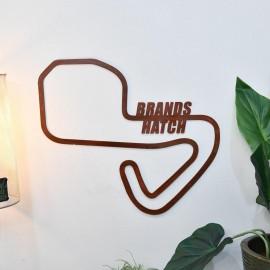 Brands Hatch Racing Track Rustic Finish