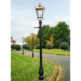 Victorian Lamp Post - Copper 3.2m