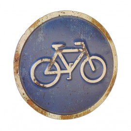 Vintage Bicycle Only Sign