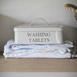 Off-White Washing Tablets Storage Box