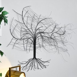 """""""Windswept Winter Tree"""" Wall Art in a the Home"""