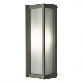 """Yasaka-Dori"" Black LED Wall Light in Use"