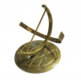 """Zenith"" Armillary in a Antique Brass Finish"