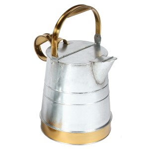 3 Gallon Watering Can Created From Galvanised Steel & Brass