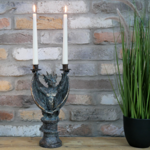 Ornate Dragon Candle Holder