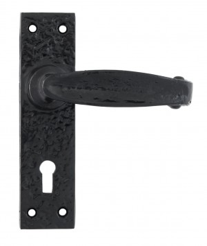 Scrolled Lever Lock