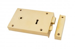 """Fabius"" Internal/External Left Hand Rim Lock - Large"