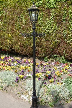 "The ""Camelot"" Lamp post set"