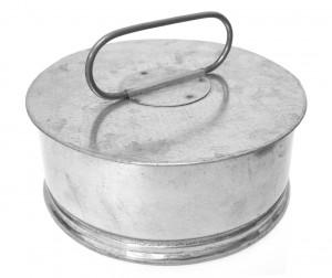 Rain Cap - Galvanised Steel
