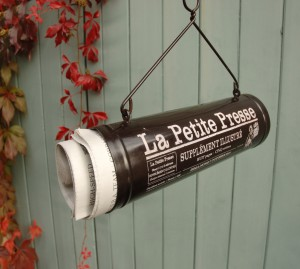"""La Petite Presse"" Newspaper Holder"
