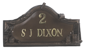 Painter and Decorators House Name Sign