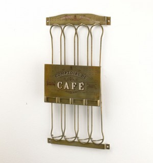 French style coffee pod holder