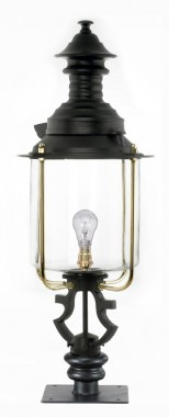 Belgravia Pillar Light and Lantern Set 117cm