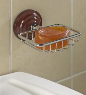 Heritage Rosewood Effect Soap Basket