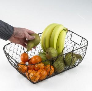 Hilda's Rustic Wire Basket