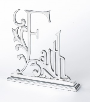 Faith Mantle Sign