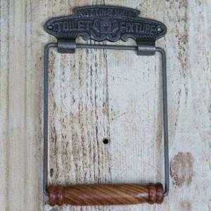 'Notting Hill' Iron Toilet Roll Holder