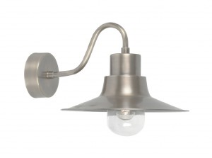 Antique Nickel Traditional Barn Wall Light