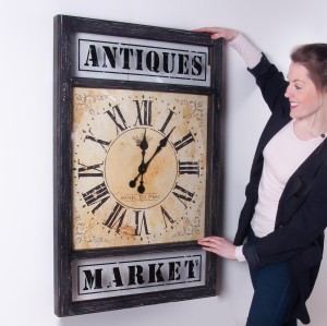 """Southwalk"" Antique Market Wall Clock"