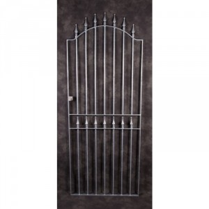 """St Oswald's Arrow"" Large Galvanised Steel Gates"