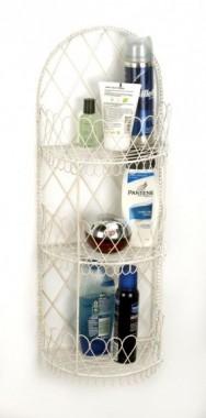 Claudette' Bathroom rack