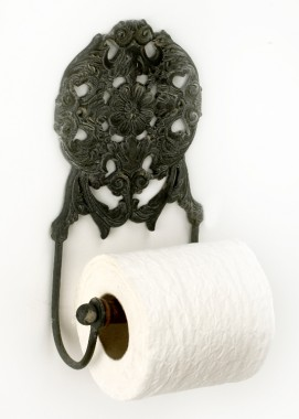 """Lady Elinor"" Toilet roll holder"