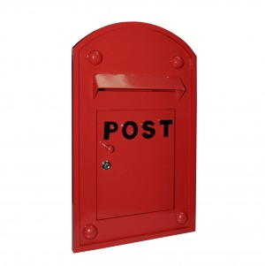 Red Bayswater built in Post Box