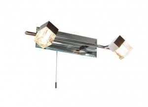 Bevelled Contemporary Wall Light