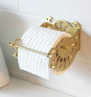 "The Victorian ""Mitchell"" Toilet Roll Dispenser"