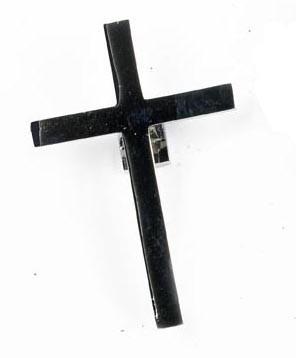 Black Cross Door Knocker