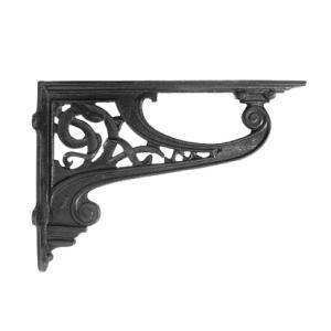 """Celtic"" Iron Shelf Bracket 30 x 42cm"