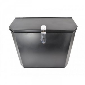"""Billingsgate"" Large Secure Parcel Box with a Bright Chrome Clasp"