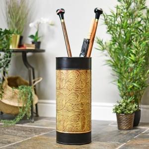 """""""Maebrook"""" Floral Umbrella Stand in Situ"""