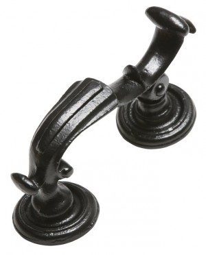 """Belgrave Manor"" Cast Iron Victorian Door Knocker"