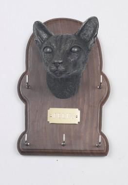 Siamese Cat Key Holder