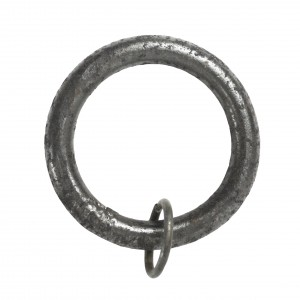 Wrought Iron Curtain Ring Front