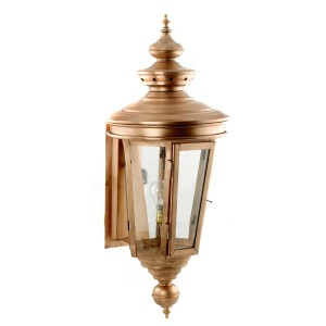 """Cheltenham"" Wall Lantern finished in Copper"