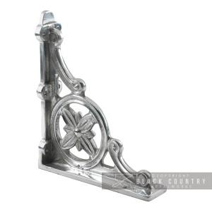 """Delpi"" Aluminium Shelf Brackets 31 x 28cm"