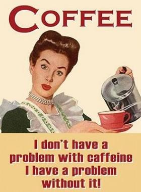 """Coffee"" Metal Sign"