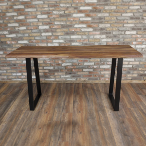 Wood & Iron Large Table