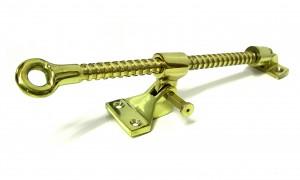 Polished Brass Single Thread Screw Jack
