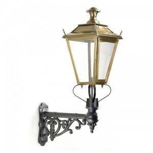 Dorchester Brass Lantern on Ornate Capella Bracket