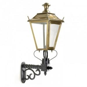 Brass Dorchester Lantern On a Royale Bracket
