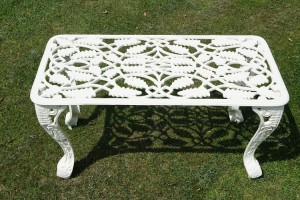 Coalbrookdale Garden Coffee table