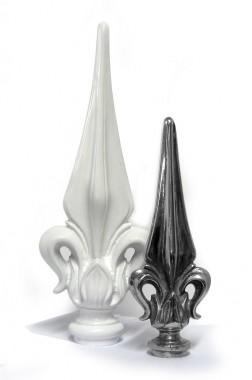 Aluminium Fleur De Lys Finial
