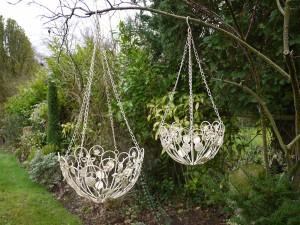 Flower Design Hanging Flower Basket