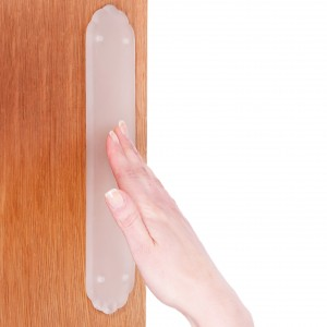 Frosted Glass Finger Plate