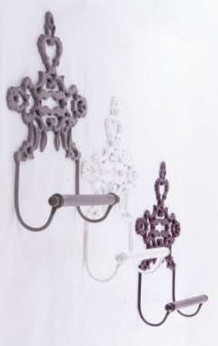 """Isadora Hall"" Cast Iron Kitchen Roll Holder"