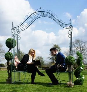 """""""Beau Brummell"""" Garden seat"""